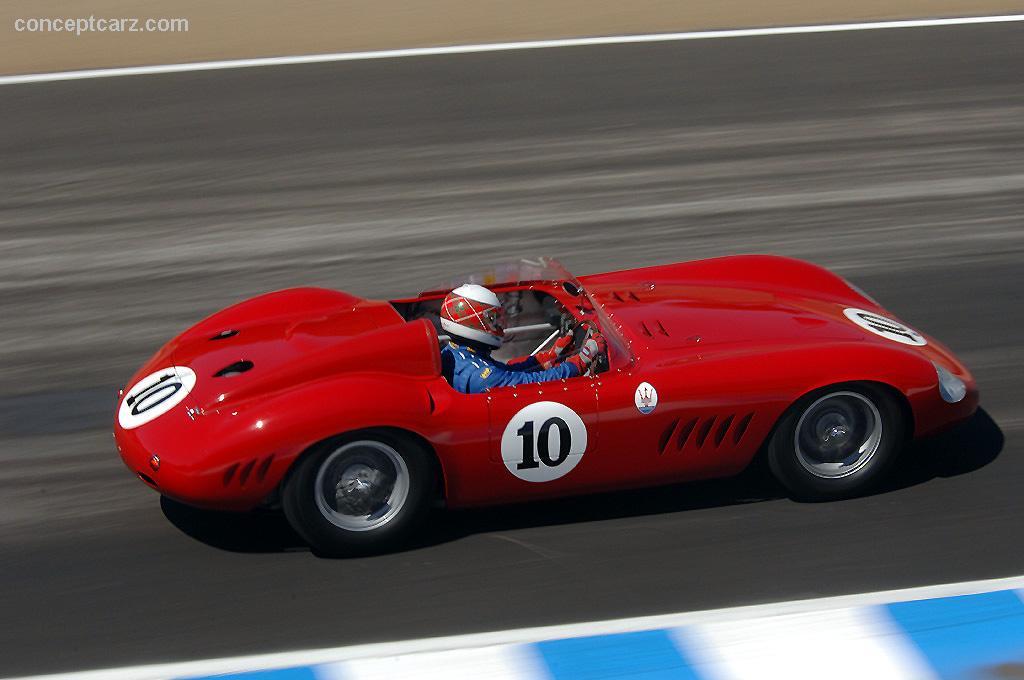 1957 Maserati 300 S photos