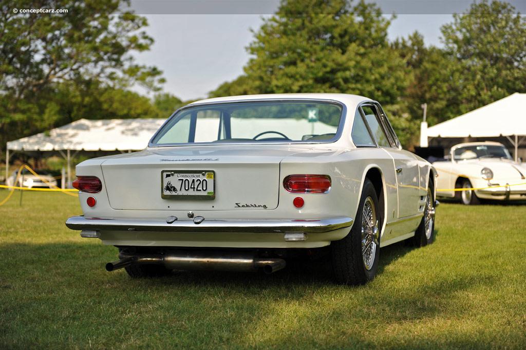 1961 Maserati Sebring I Prototype Image