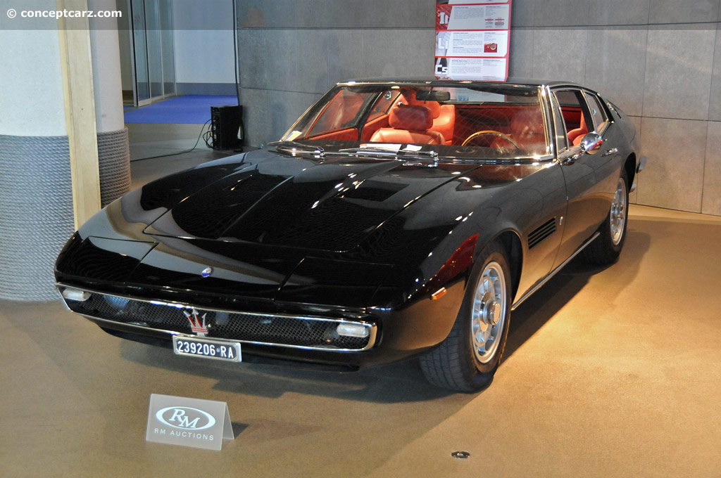 Maserati Ghibli Price >> 1968 Maserati Ghibli (4700, 4.9, SS) - Conceptcarz