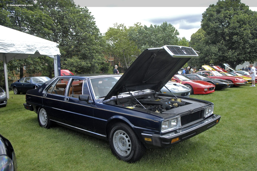 Unique Auto Sales >> 1980 Maserati Quattroporte Pictures, History, Value, Research, News - conceptcarz.com