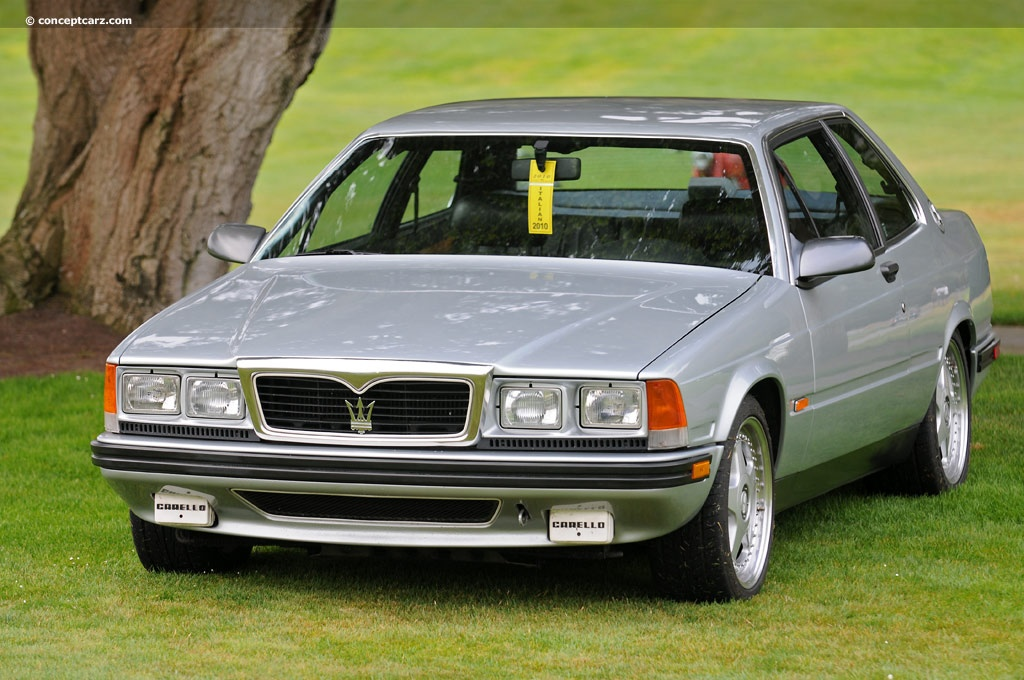 1989 Maserati 228 Pictures History Value Research News