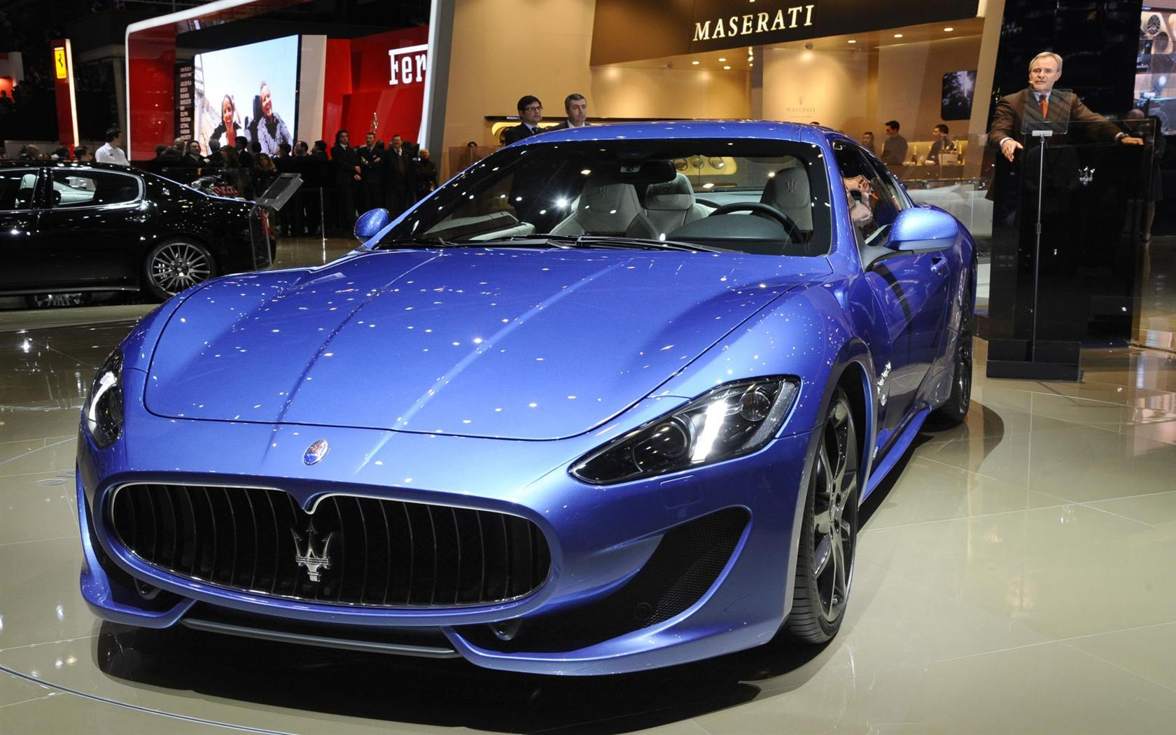 2012 maserati granturismo sport image. Black Bedroom Furniture Sets. Home Design Ideas