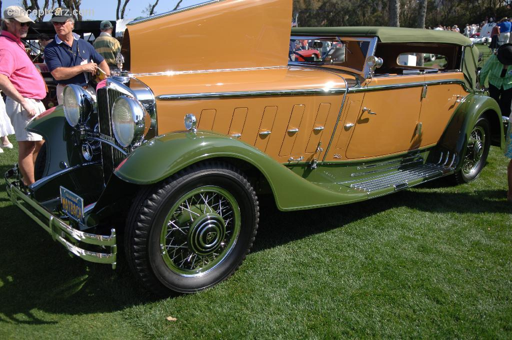 1932 Maybach Zeppelin DS 8 (DS8) - Conceptcarz