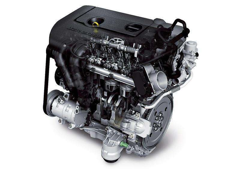 Ремонт мазда 6  двигатель