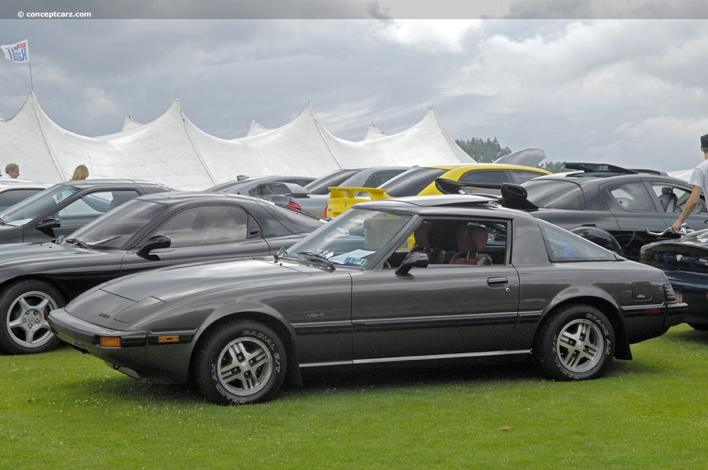 Auction results and data for 1984 Mazda RX7  conceptcarzcom