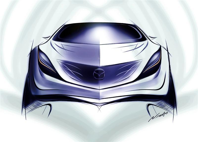 2008 Mazda Kazamai Concept Image Photo 21 Of 31