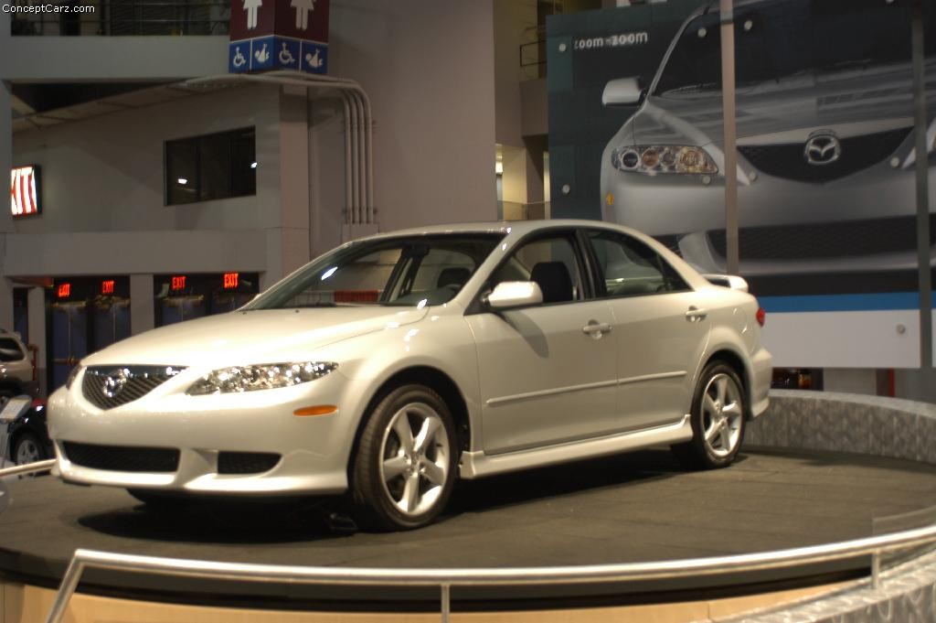 2003 mazda 6 technical specifications and data engine dimensions and mechanical details. Black Bedroom Furniture Sets. Home Design Ideas