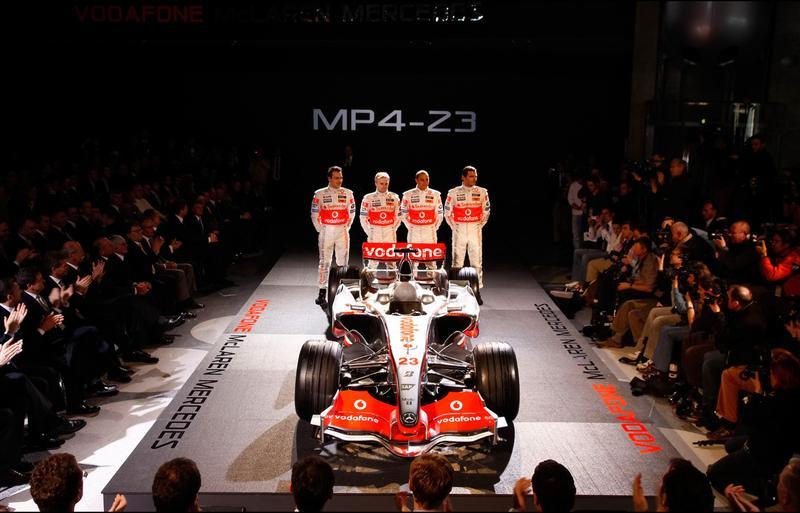 2008 McLaren MP4-23 Image