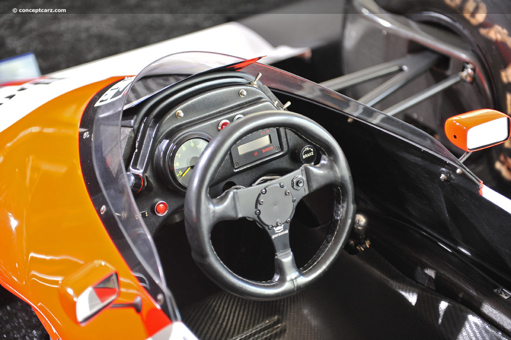 1987 Mclaren Mp4 3 Image Chassis Number Mp4 3 1