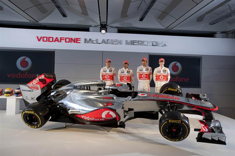 2012 McLaren MP4-27 Image