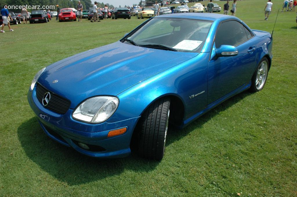 2002 Mercedes-Benz SLK-Class Image