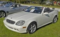 2003 Mercedes-Benz SLK image.