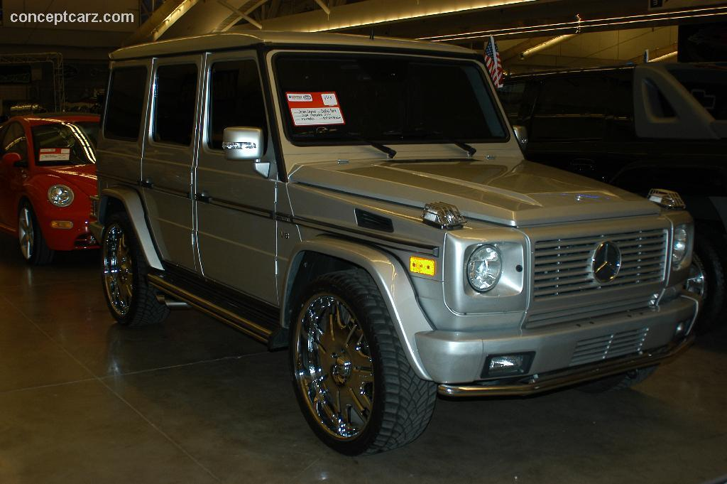 Image gallery 2005 mercedes g500 for Mercedes benz slk brabus price