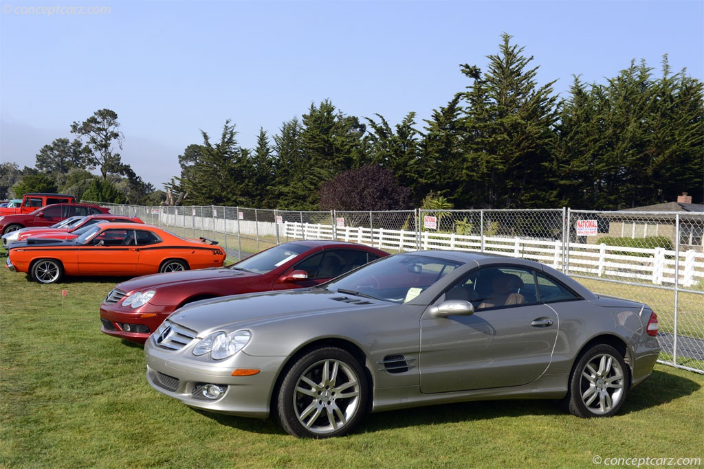 auction results and data for 2007 mercedes benz sl class. Black Bedroom Furniture Sets. Home Design Ideas