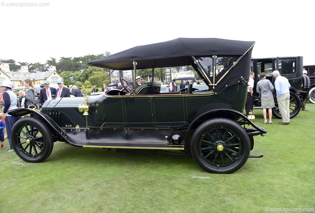 1911 mercedes benz 38 70 hp at the pebble beach concours d for Mercedes benz 70