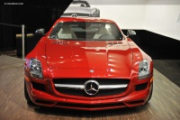 2011 Mercedes-Benz SLS AMG image.