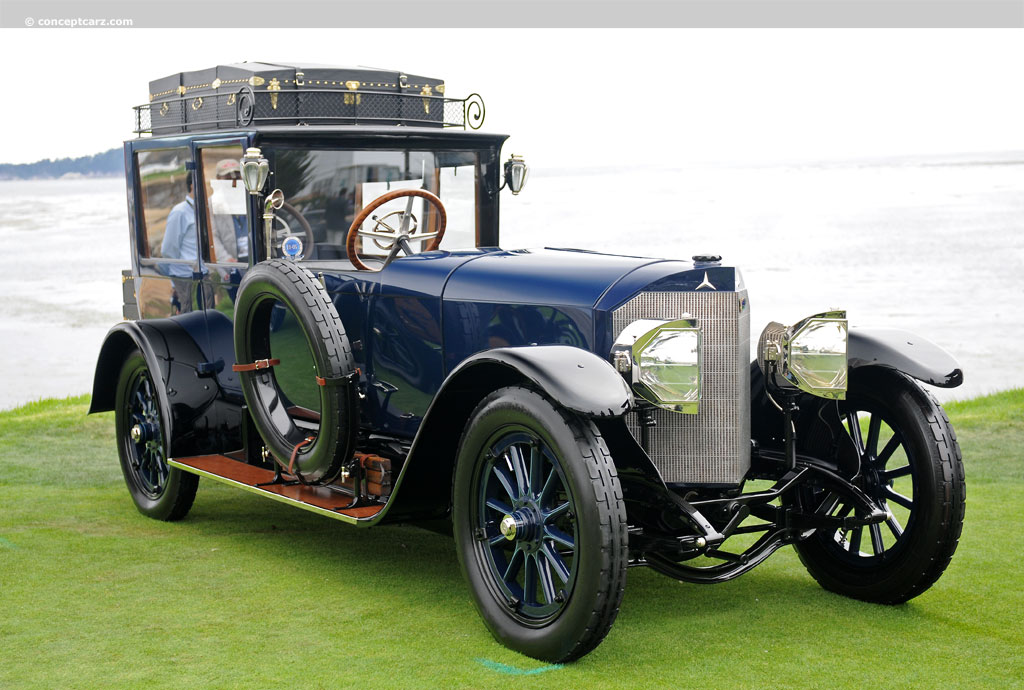 1915 mercedes 28 60 hp pictures history value research news. Black Bedroom Furniture Sets. Home Design Ideas