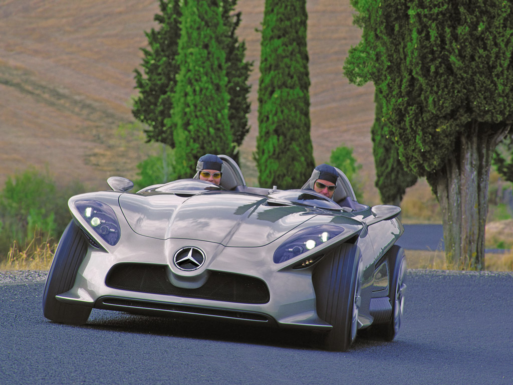 2002 Mercedes-Benz F400 Carving Concept Image