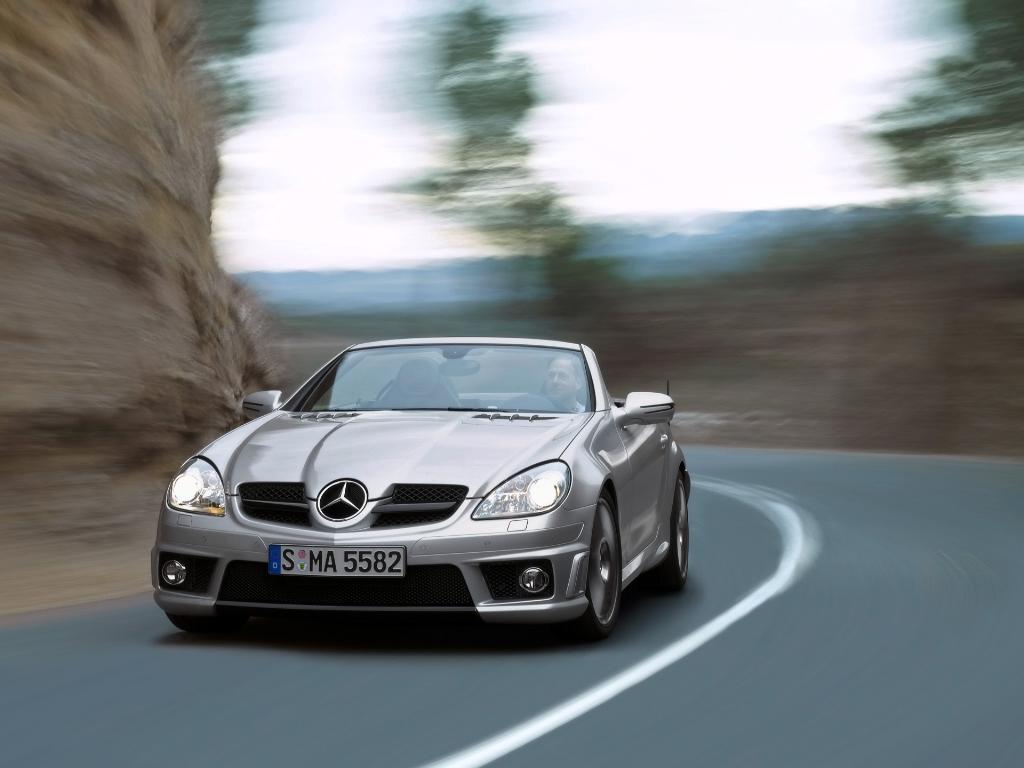 2008 mercedes benz slk 55 amg for Mercedes benz amg 55