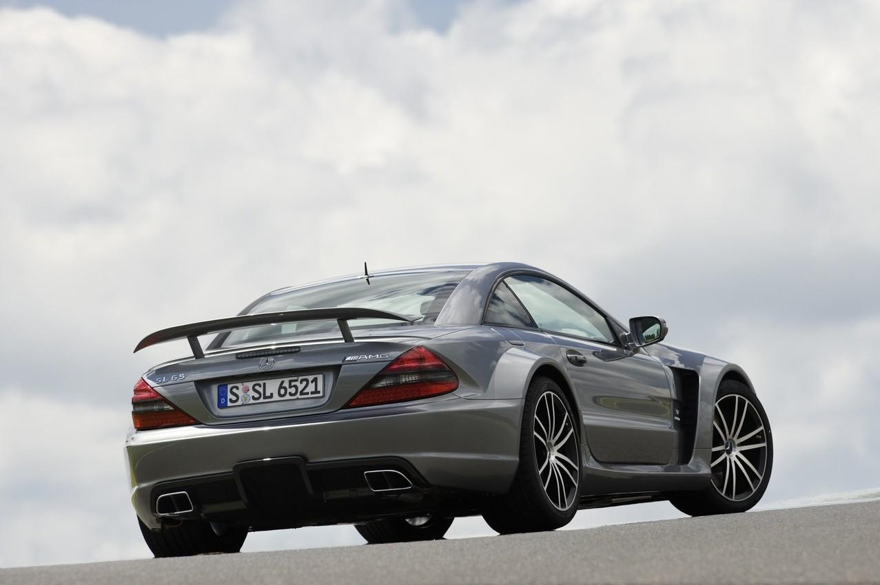 2009 mercedes benz sl 65 amg black series for Mercedes benz sl price
