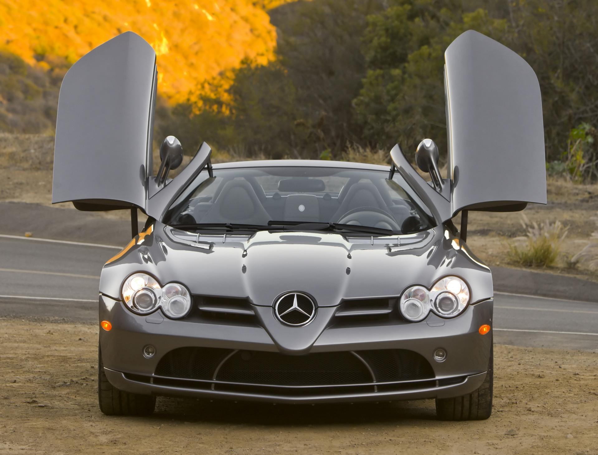 Slr roadster 2008 open doors wallpaper mercedes cars 74 for Mercedes benz best cars