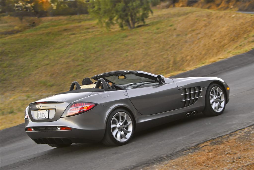 2009 mercedes benz mclaren slr for Mercedes benz slr mclaren