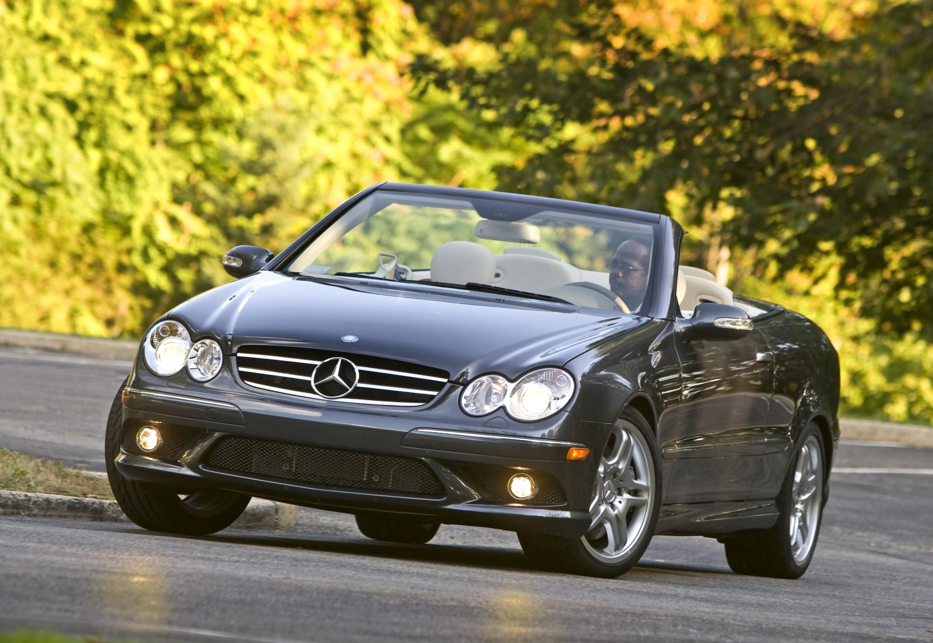 2009 mercedes benz clk class. Black Bedroom Furniture Sets. Home Design Ideas
