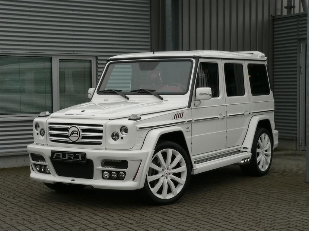 the - White G Wagon Red Interior