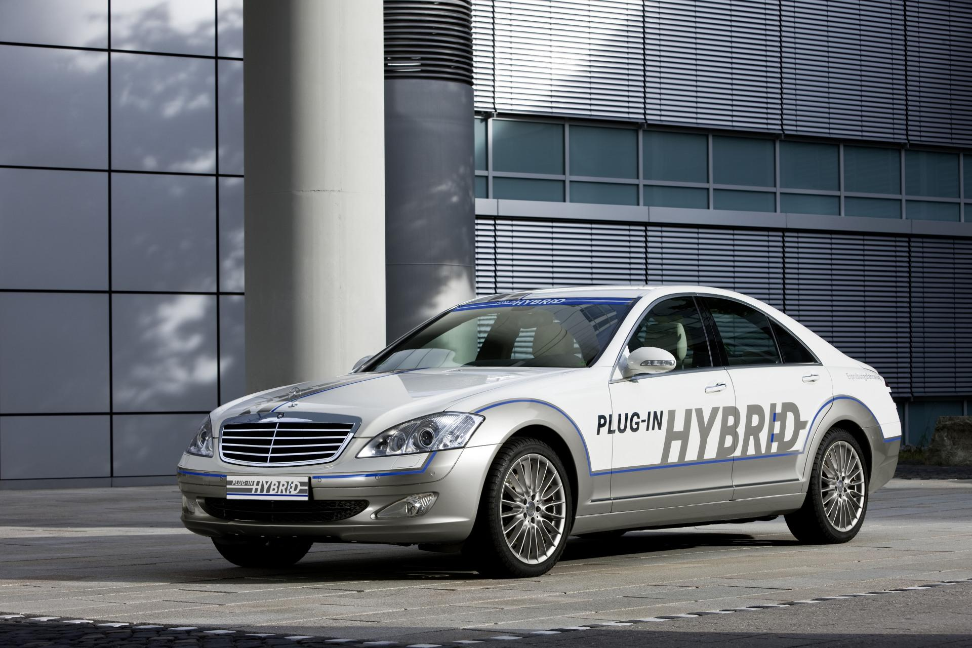 2010 mercedes benz vision s500 for Mercedes benz hybrids