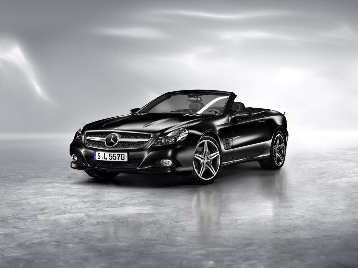 2011 mercedes benz sl550 night edition for Mercedes benz 2011