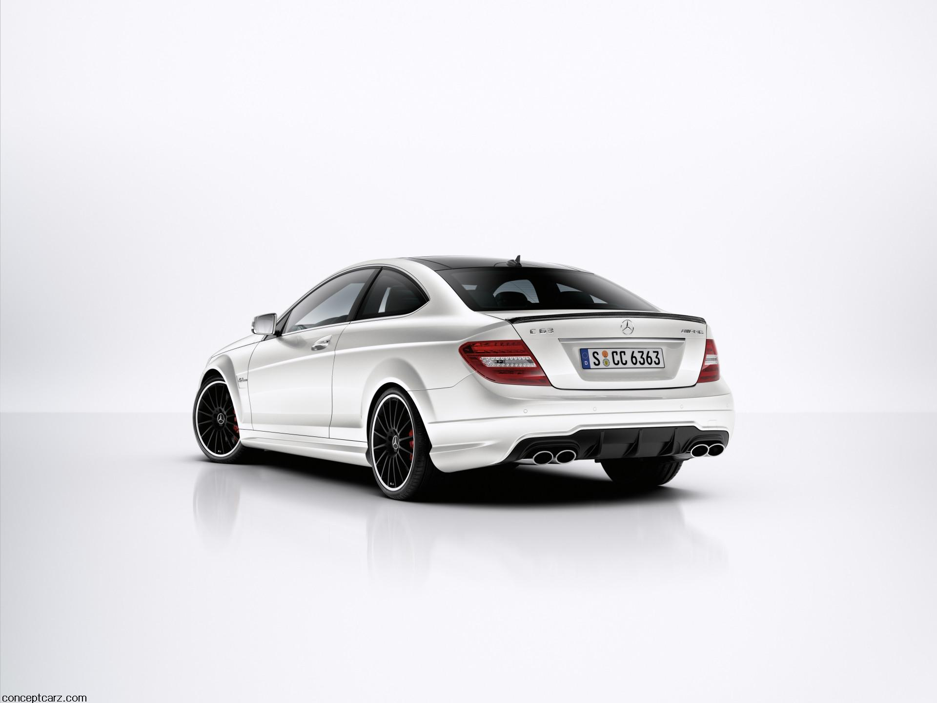 2012 Mercedes-Benz C63 AMG Coupe Image