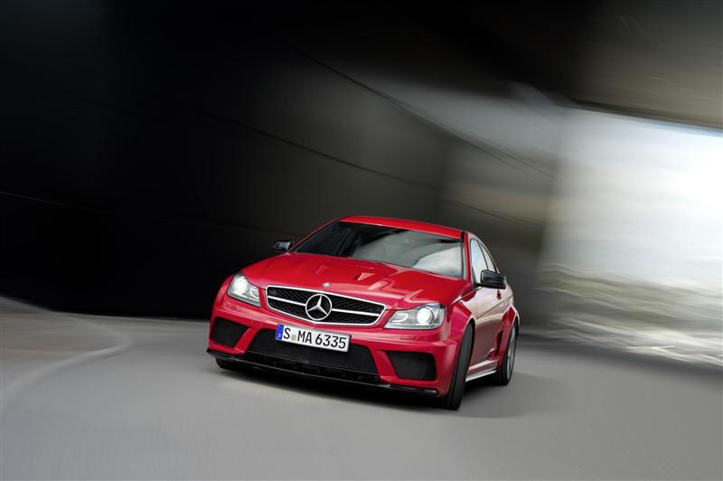 2012 Mercedes-Benz C63 AMG Coupe Black Series Image