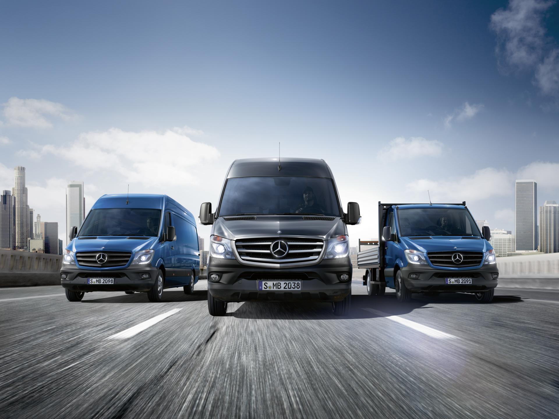 2014 mercedes benz sprinter wallpaper for Mercedes benz commercial van