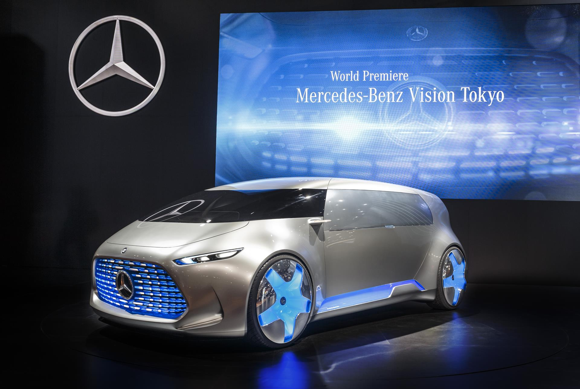 2015 mercedes benz vision tokyo concept pictures news for Mercedes benz vision