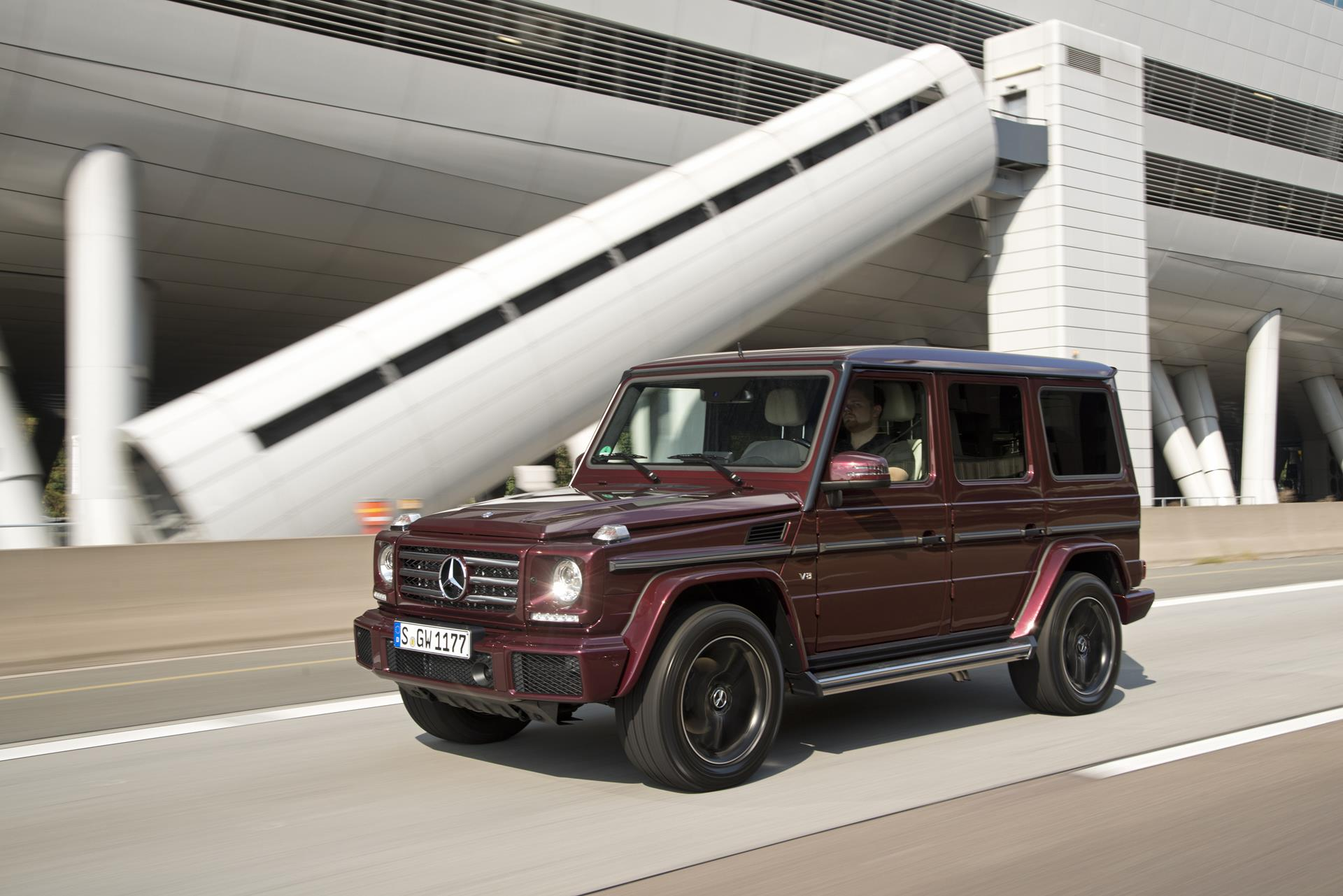 2016 mercedes benz g class for Mercedes benz suv classes