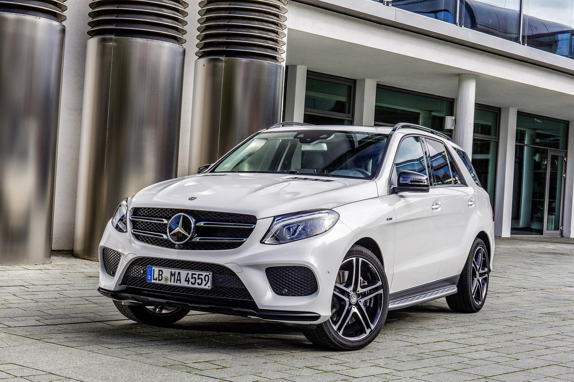 2016 mercedes benz gle 450 amg for Benz mercedes suv