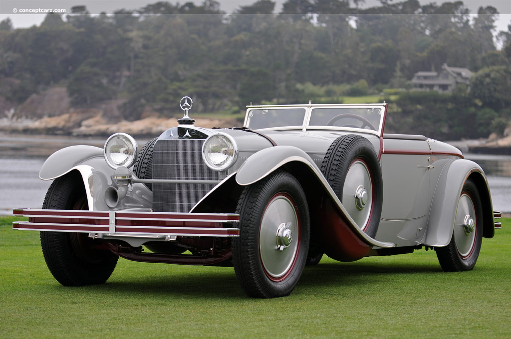 1928 mercedes benz model s at the pebble beach concours d for 1928 mercedes benz