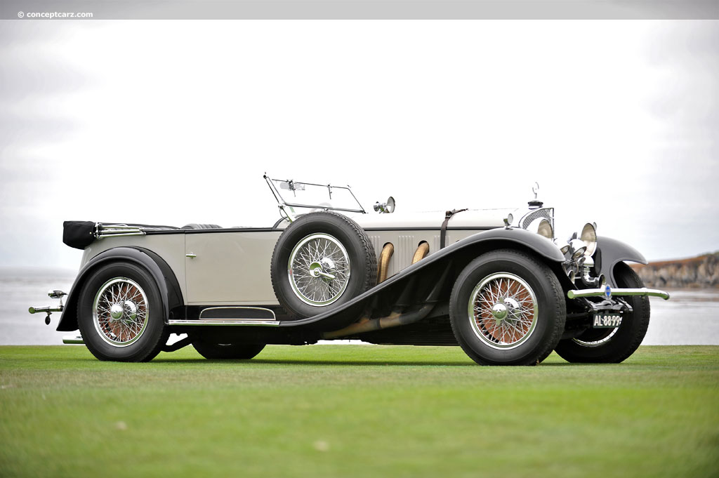 1928 mercedes benz 710 ss pictures history value