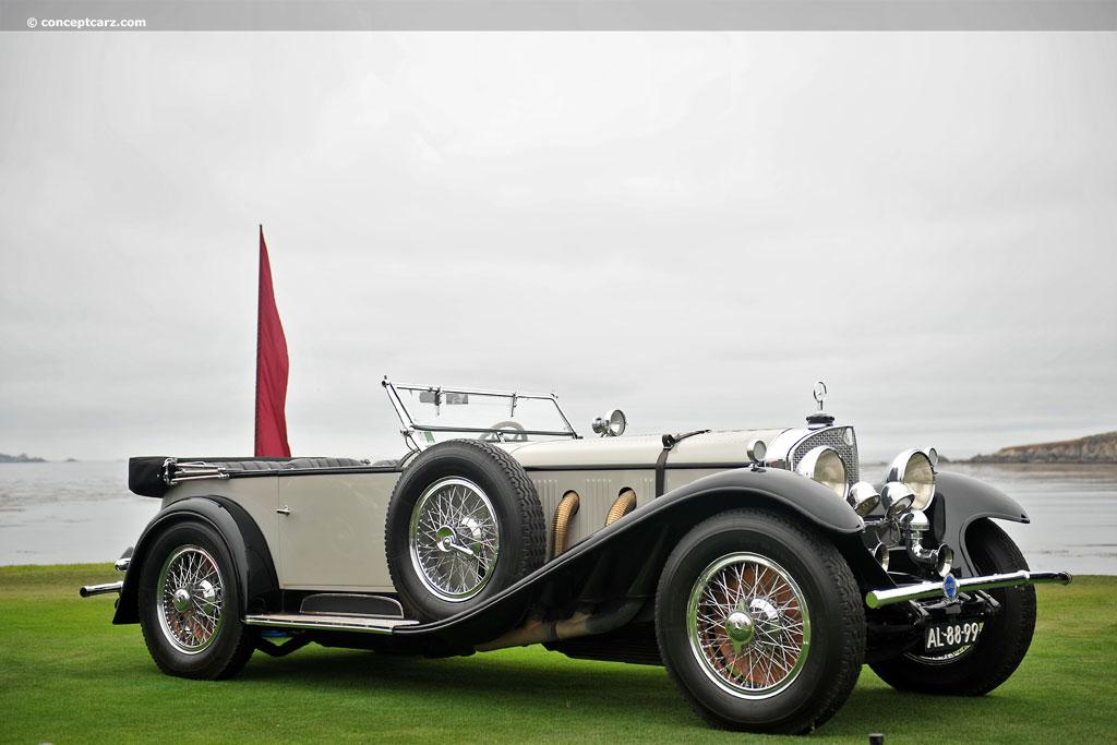 1928 mercedes benz 710 ss conceptcarz for 1928 mercedes benz
