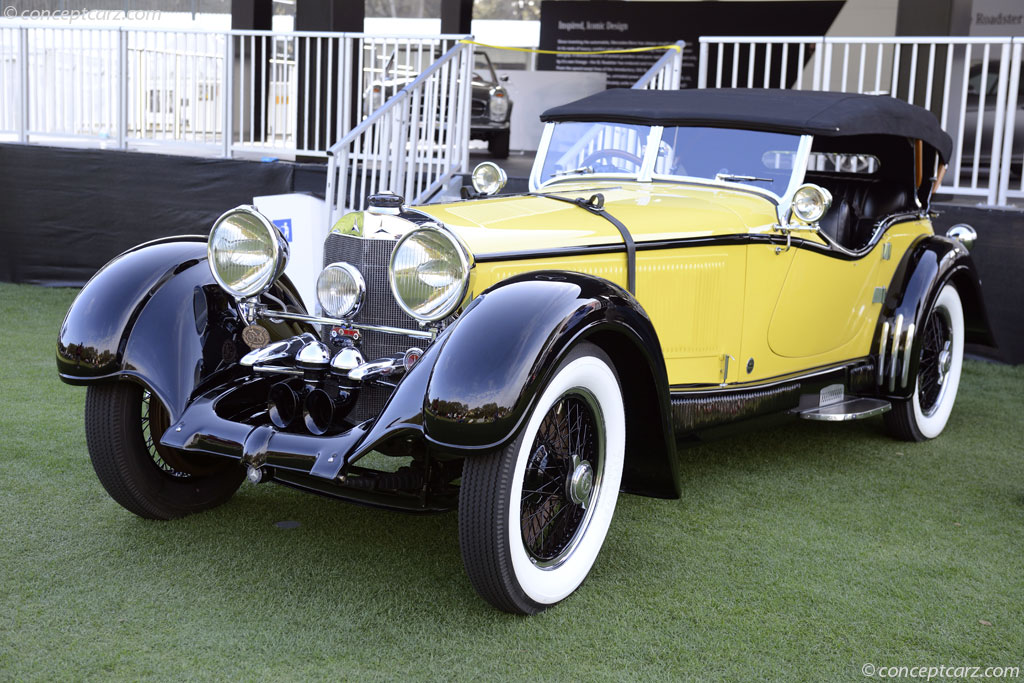 1928 mercedes benz model s at the amelia island concours d for 1928 mercedes benz
