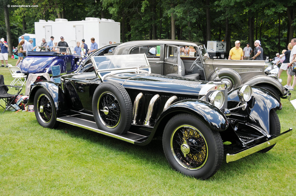 1928 mercedes benz model s at the concours d 39 elegance of for 1928 mercedes benz