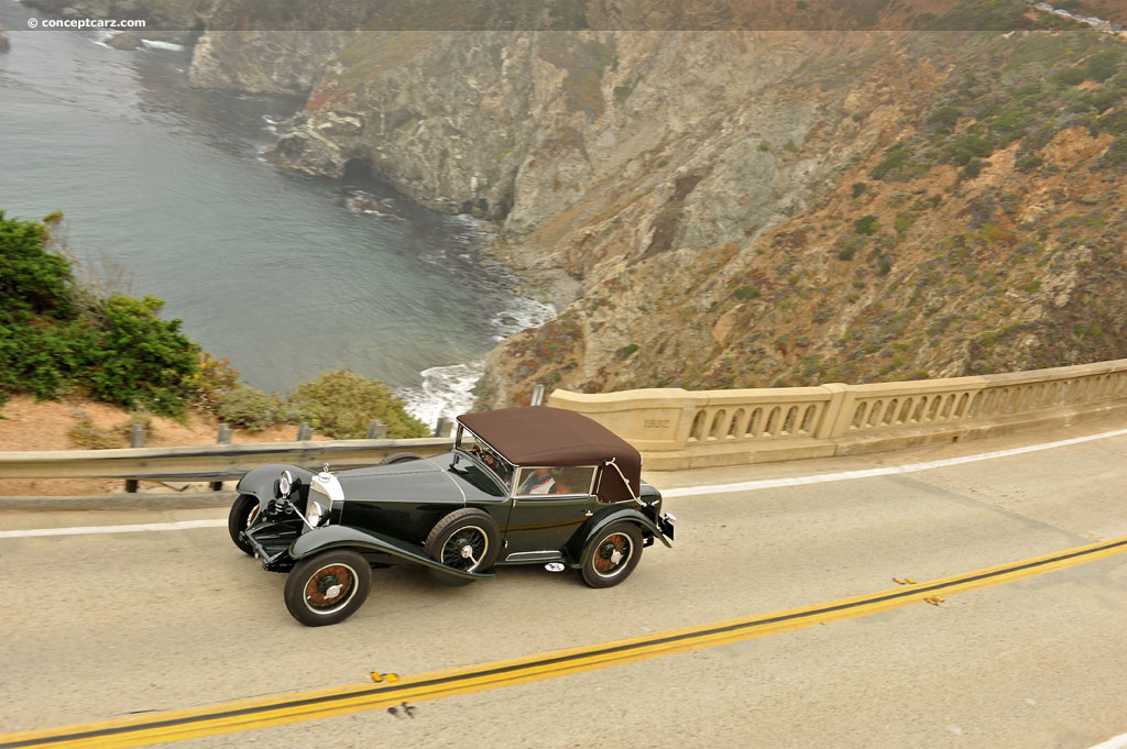 1929 mercedes benz ss at the 61st pebble beach concours d for Mercedes benz ss