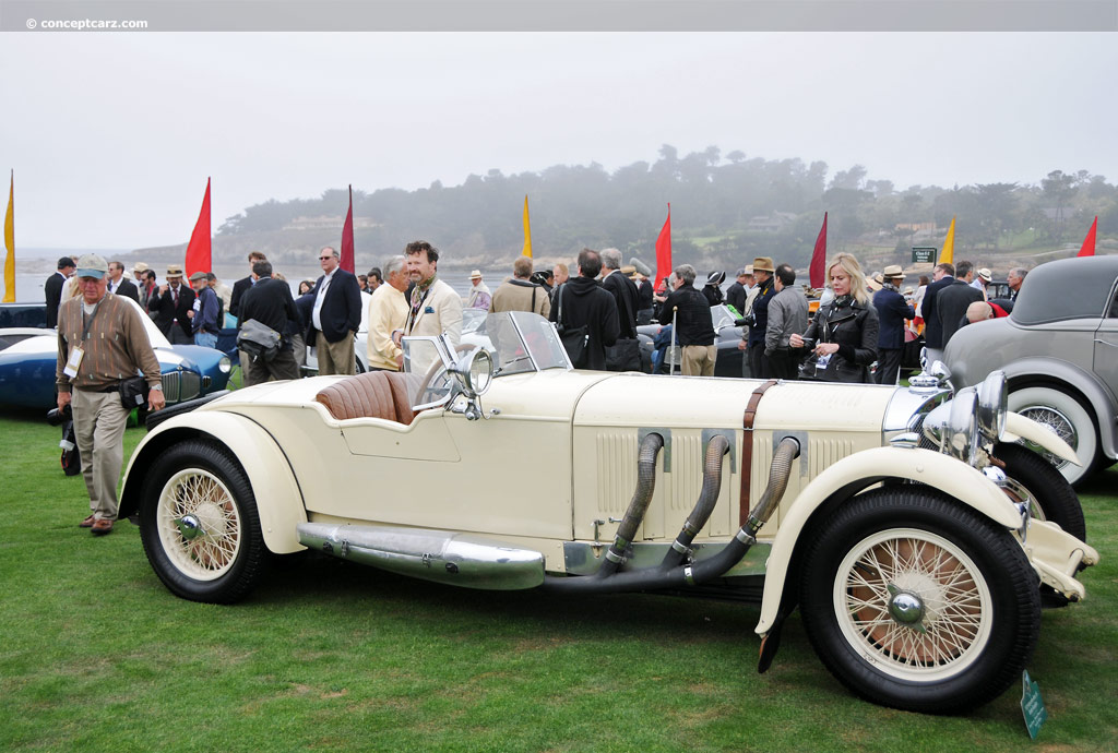 1929 mercedes benz ss at the pebble beach concours d 39 elegance for Mercedes benz ss