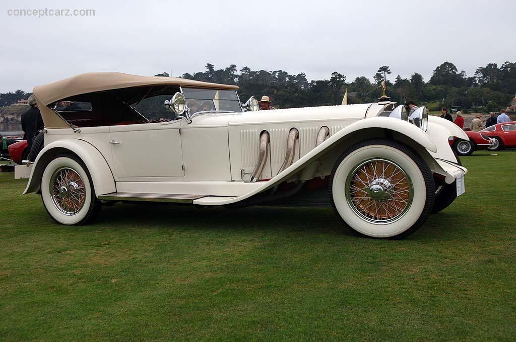 1929 mercedes benz model s for Mercedes benz model s