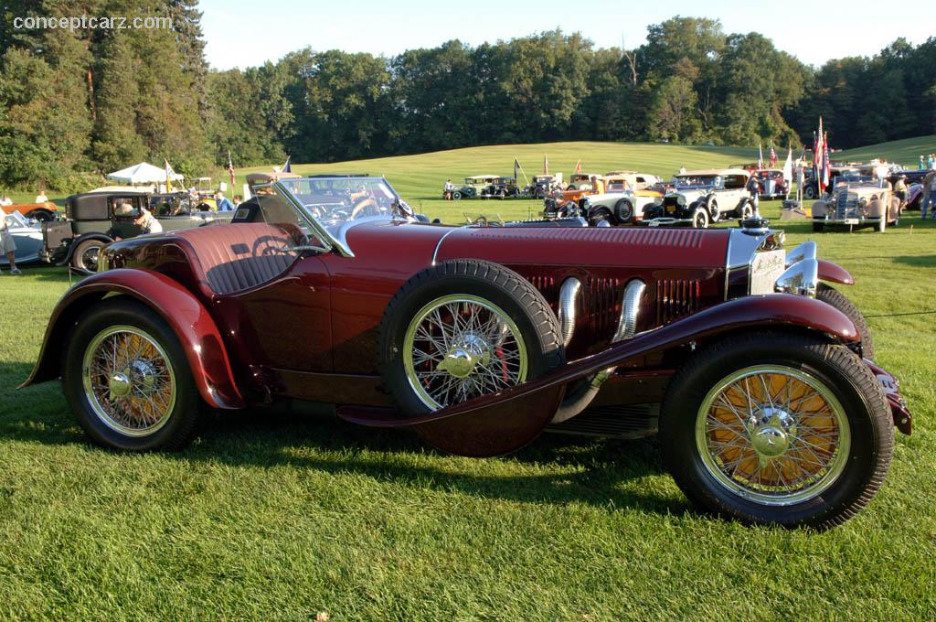 1929 mercedes benz ssk at the meadow brook concours d 39 elegance for Mercedes benz 1929 ssk