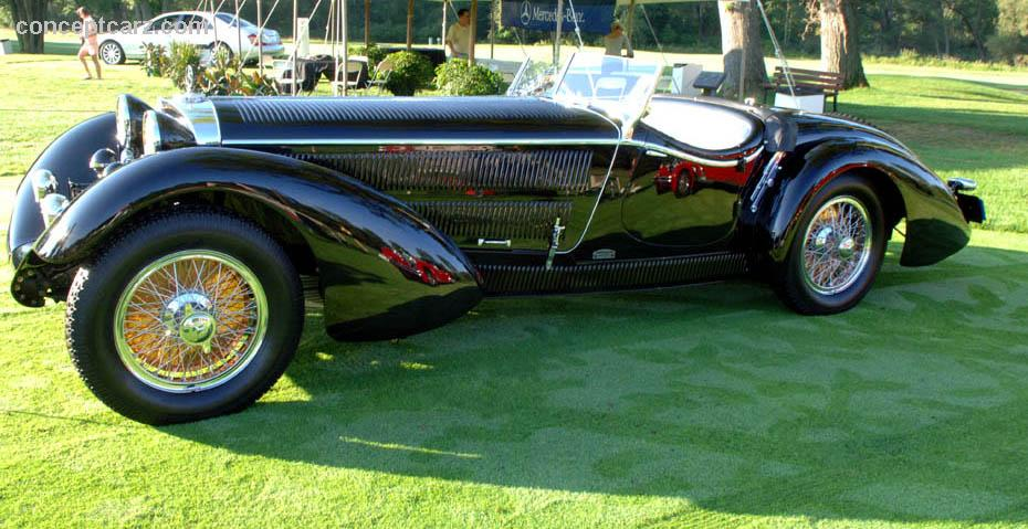 1930 mercedes benz 38 250 ss at the meadow brook concours for Mercedes benz ss