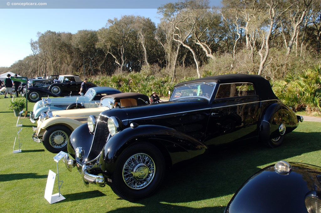 1936 Mercedes Benz 540k At The Amelia Island Concours D