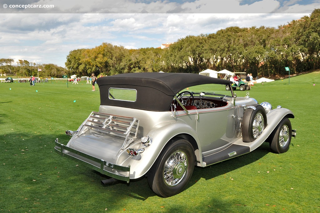 1936 Mercedes Benz 500k At The Amelia Island Concours D
