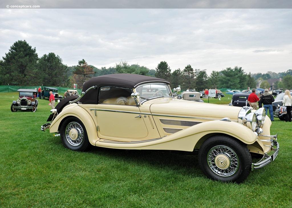 1936 Mercedes Benz 290k Conceptcarz