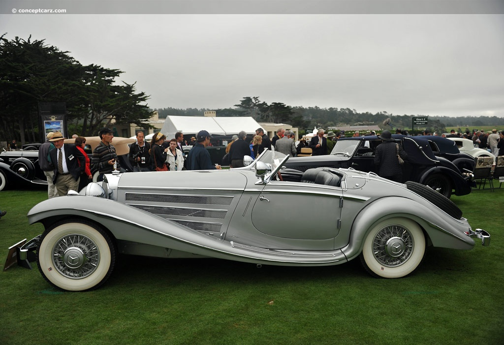1936 Mercedes Benz 500k At The Pebble Beach Concours D